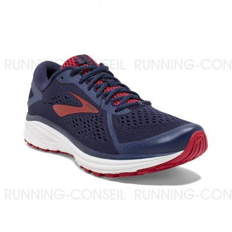 BROOKS ADURO 6 HOMME | NAVY/CHERRY/WHITE | Collection Printemps-Été 2019