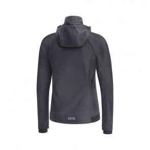 GORE® R3 GORE WINDSTOPPER VESTE ZIP-OFF FEMME | TERRA GREY/BLACK