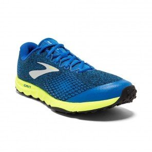 BROOKS PUREGRIT 7 Homme Blue/Lime/Black | Collection Automne Hiver 2018