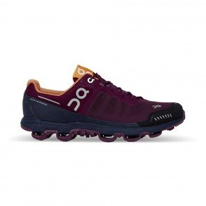 ON RUNNING Cloudventure Femme Mulberry   Salmon   Automne Hiver 2018