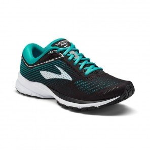 BROOKS LAUNCH 5 Femme Black/Teal Green/White   Collection Automne Hiver 2018