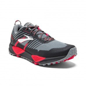 BROOKS CASCADIA 13 Femme Grey/Grey/Pink | Collection Automne Hiver 2018