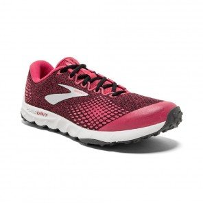 BROOKS PUREGRIT 7 Femme Pink/Black/Grey| Collection Automne Hiver 2018