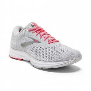 BROOKS REVEL 2 Femme Grey/White/Pink | Collection Automne Hiver 2018