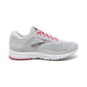 BROOKS REVEL 2 Femme Grey/White/Pink