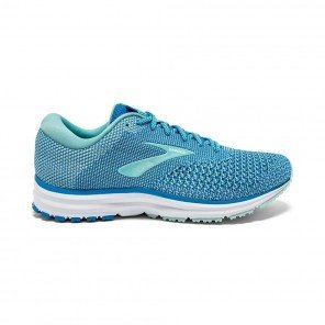 BROOKS REVEL 2 Femme Blue/Island/White