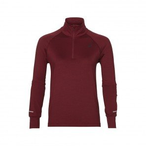 ASICS Tee-shirt Manches Longues Thermopolis 1/2 Zip Femme | Collection Automne Hiver 2018