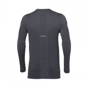 ASICS Tee-Shirt manches longues sans coutures Homme | Dark Grey Heather