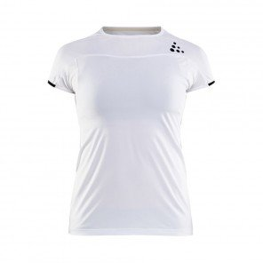 CRAFT Tee-Shirt manches courtes Shade Femme Blanc Face