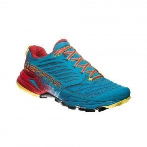 LA SPORTIVA AKASHA Homme | Tropical Blue / Cardinal Red | Collection Automne Hiver 2018