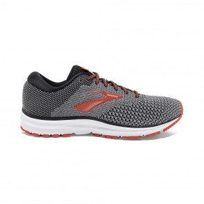 BROOKS REVEL 2 HOMME | BLACK/LIGHT GREY/ORANGE