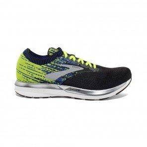 BROOKS RICOCHET HOMME | BLACK/NIGHTLIFE/BLUE