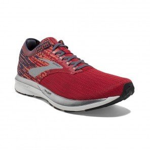 BROOKS RICOCHET HOMME | RED/ORANGE/GREY | Collection Printemps-Été 2019