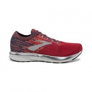 BROOKS RICOCHET HOMME | RED/ORANGE/GREY