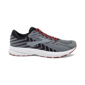 BROOKS LAUNCH 6 HOMME | EBONY/BLACK/CHERRY