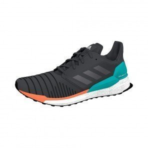 ADIDAS SOLARBOOST Homme | Core Black/Grey Two/Hi-Res Aqua | Collection Automne Hiver 2018