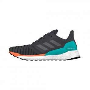 ADIDAS SOLARBOOST Homme | Core Black/Grey Two/Hi-Res Aqua