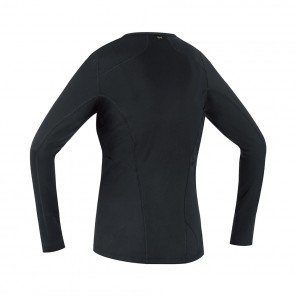 GORE® BASE LAYER MAILLOT MANCHES LONGUES FEMME | BLACK