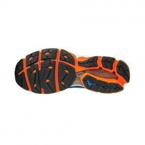 MIZUNO Wave Sky Homme Bleu / Orange