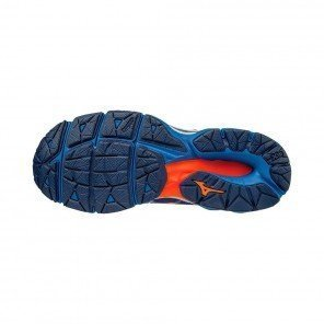 MIZUNO Wave Horizon Homme Bleu / Blanc / Orange