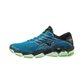 MIZUNO WAVE HORIZON 2 Homme Turkish Tile/Black/Green Gecko | Collection Automne Hiver 2018