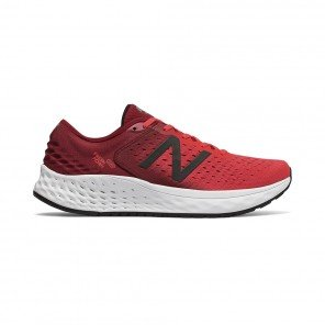 NEW BALANCE FRESH FOAM 1080v9 HOMME | ENERGY RED WITH NB SCARLET & BLACK | Collection Printemps-Été 2019