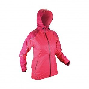 RAIDLIGHT Veste Imperméable Top Extreme MP+ Femme Grenadine / Bordeau Face