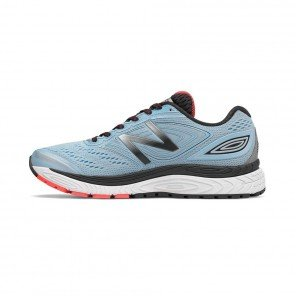 NEW BALANCE 880v7 Femme Clear Sky with Black & Vivid Coral
