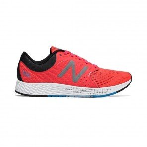 NEW BALANCE Fresh Foam Zante v4 Femme Vivid Coral with Black Profil Extérieur